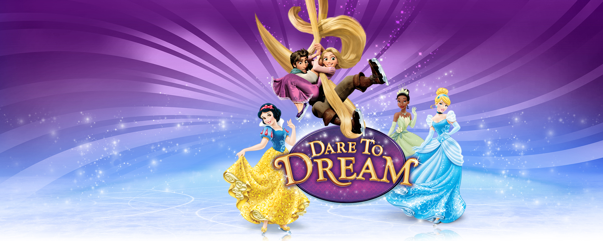 Disney on Ice returns to the EnergySolutions Arena with its Dare to Dream show.