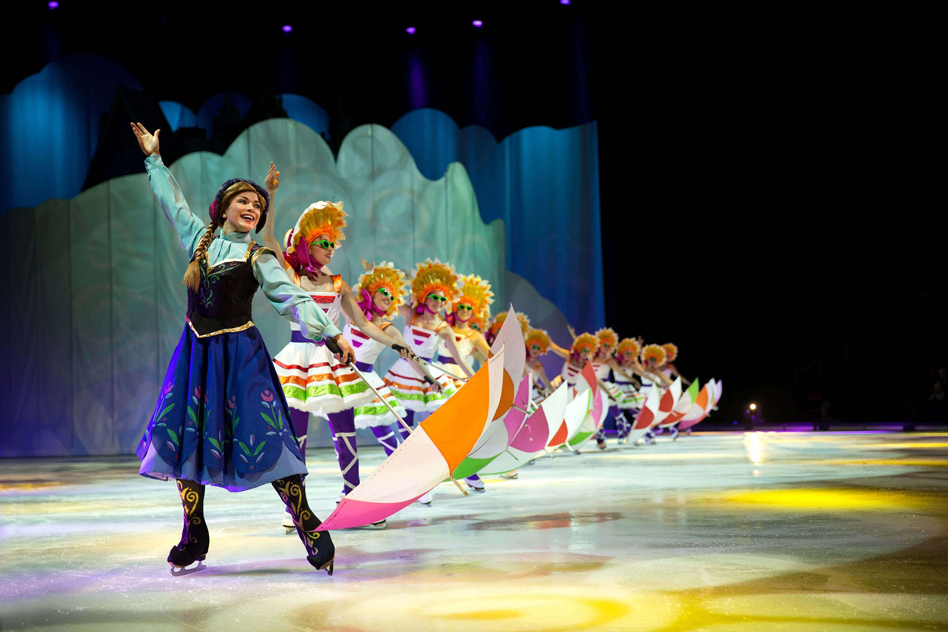 "Princess Anna performing to the song ""In Summer"""