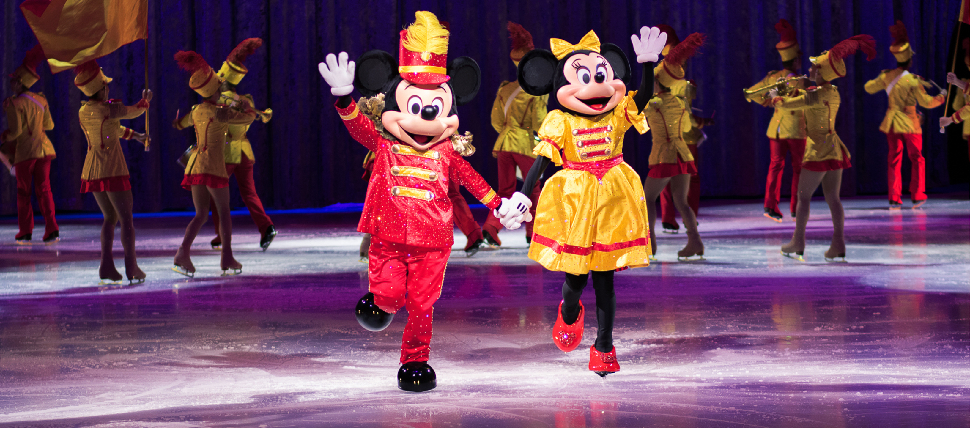 Mickey and Minnie on Ice