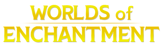 Worlds of Enchantment logo