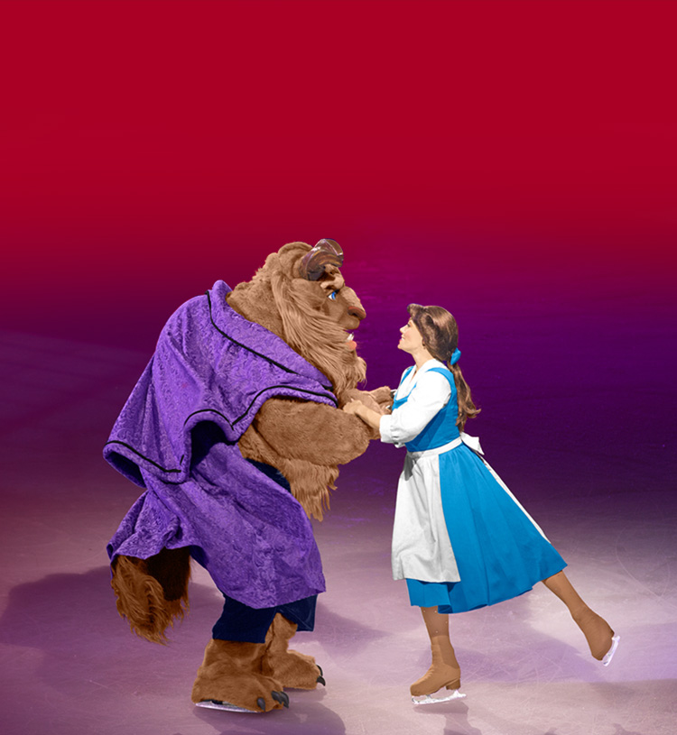 beauty and beast ice skating
