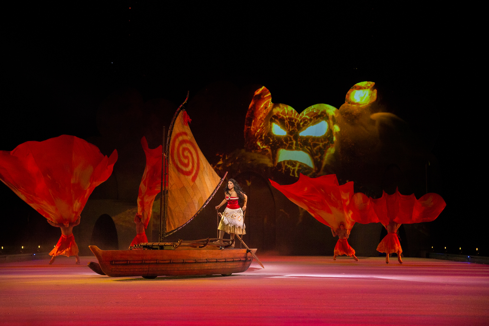 Disney's Moana on Ice