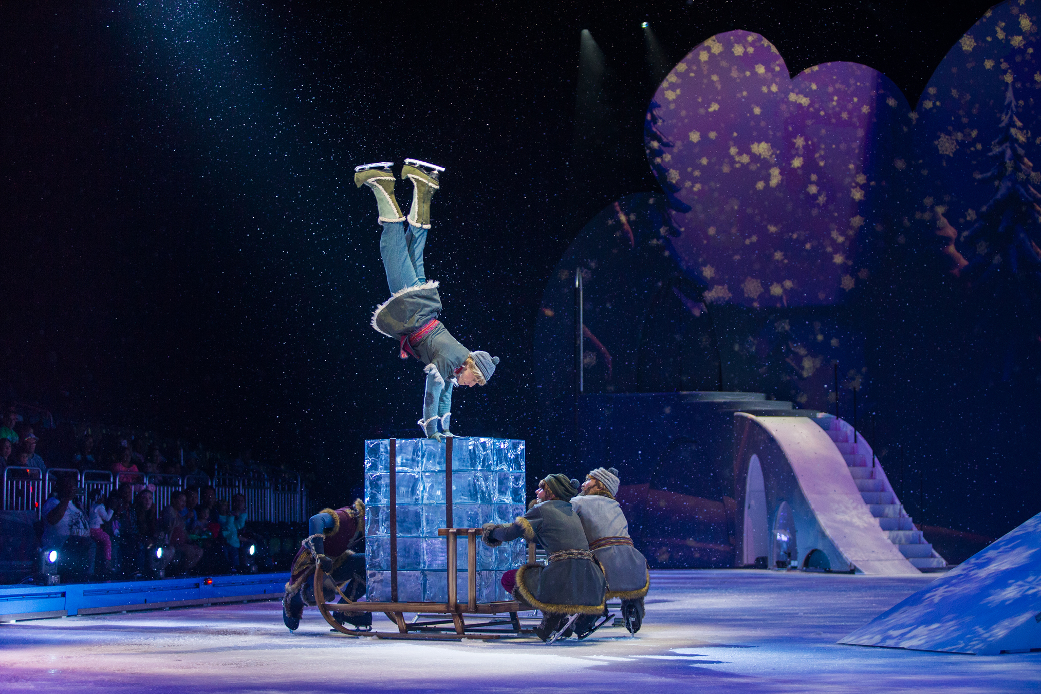 Disney's Kristoff on Ice