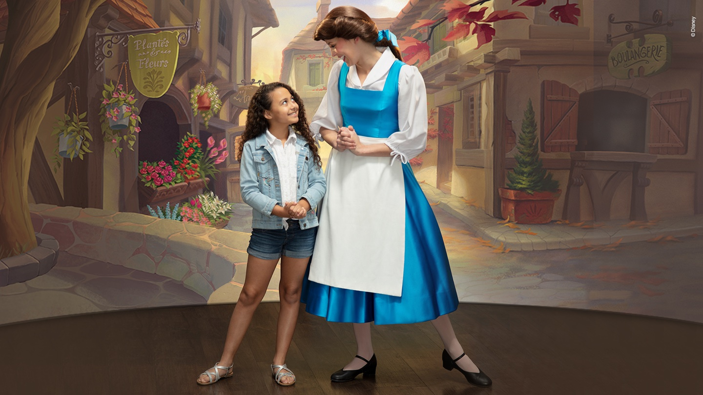 Belle with girl