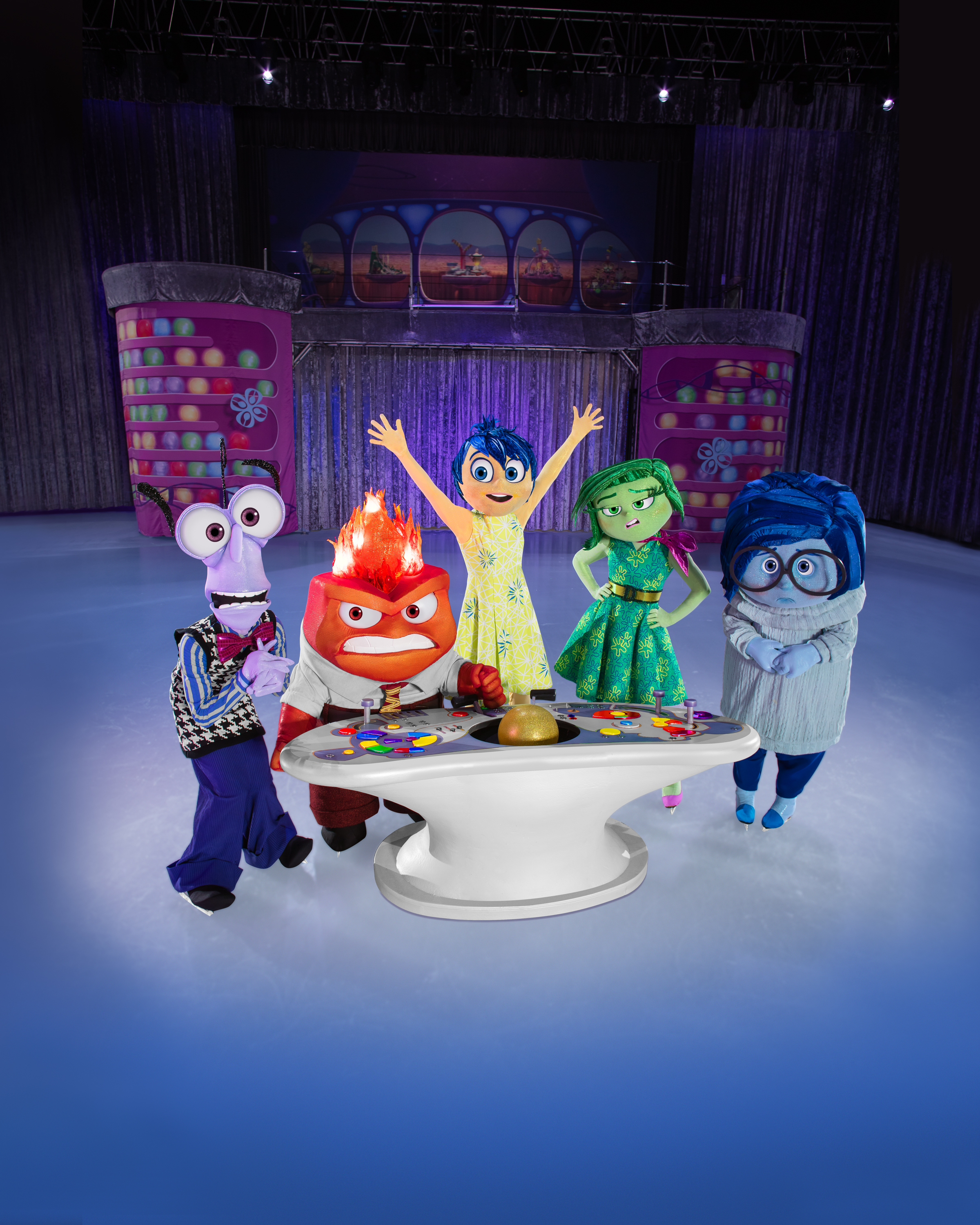 Disney's Inside out characters