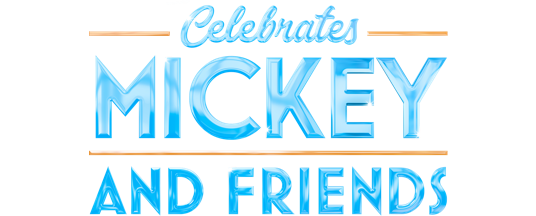 Celebrate Mickey and Friends logo