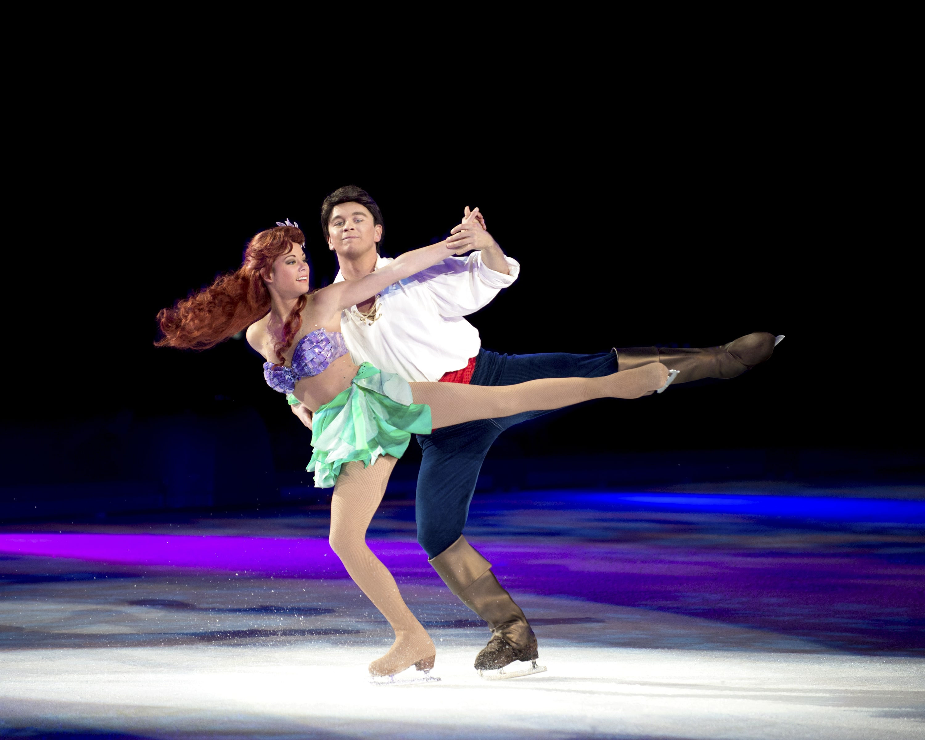Ariel and Prince Eric duet