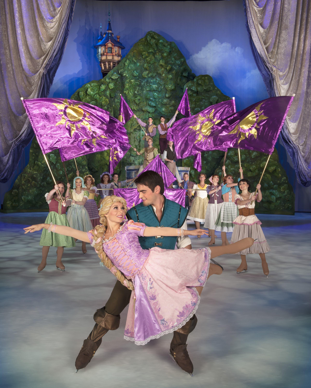 Rapunzel and Flynn Ryder duet