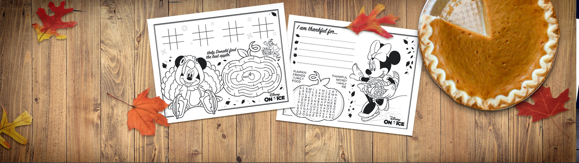 Keep Little Turkeys Busy with Thanksgiving Activity Placemats!
