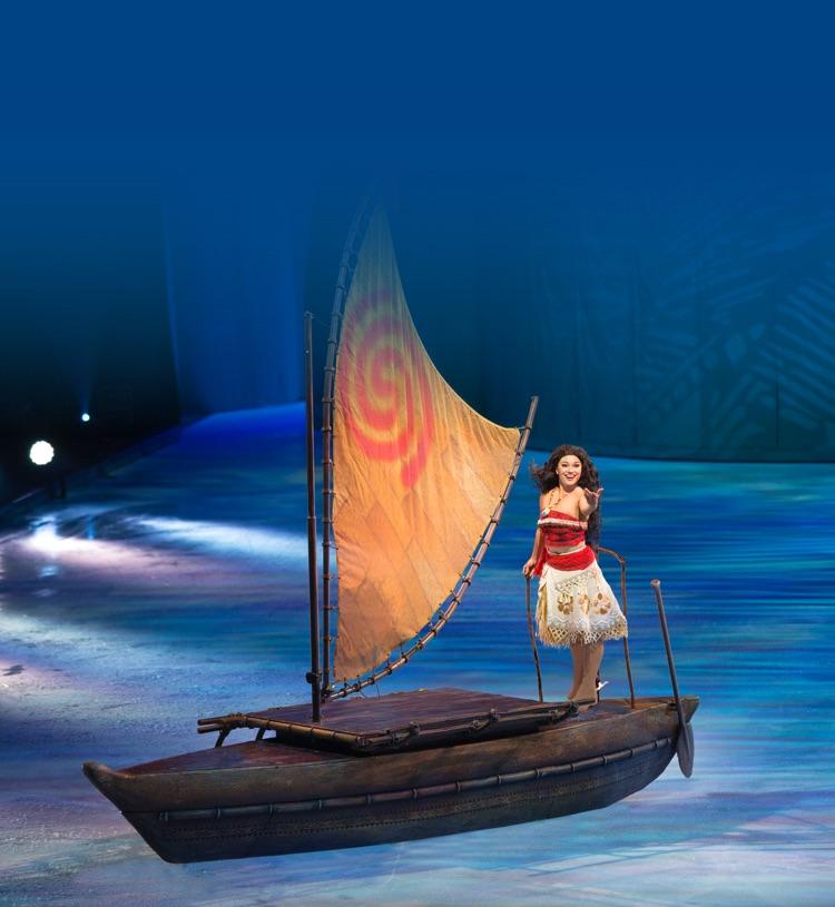 Sail away with Moana