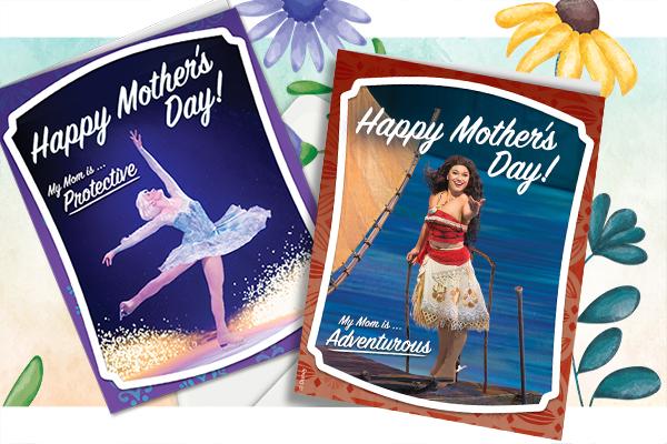 Mother's Day Disney Princess Cards