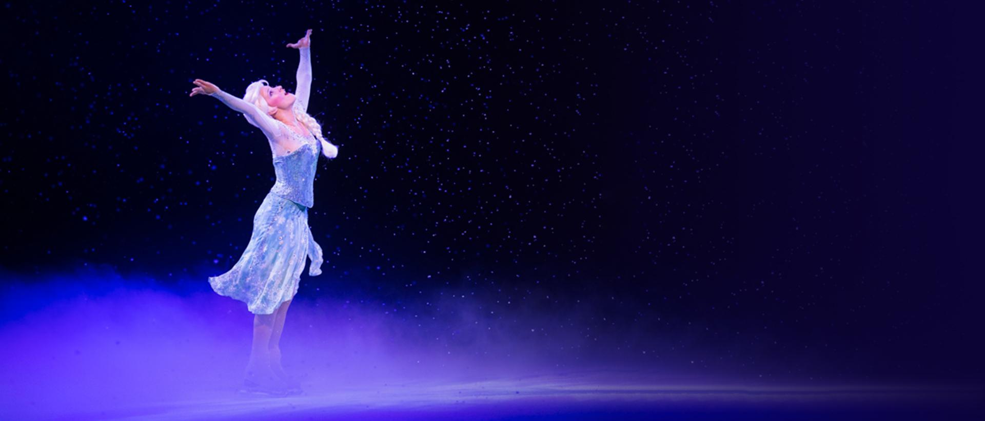 Elsa on dancing on ice