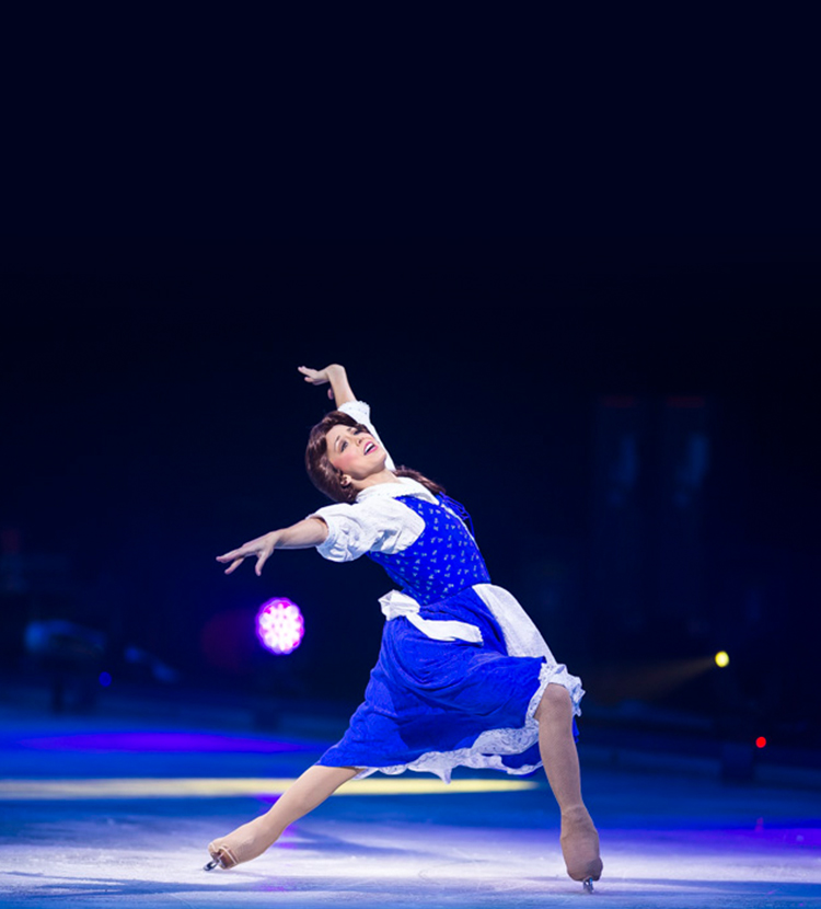 belle dancing on ice