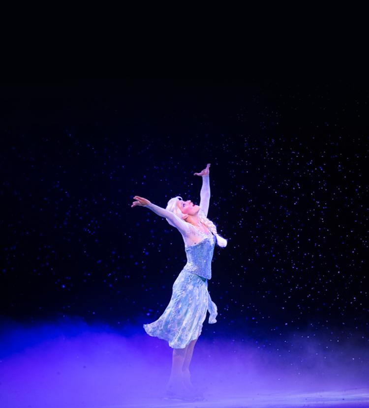 elsa dancing on ice