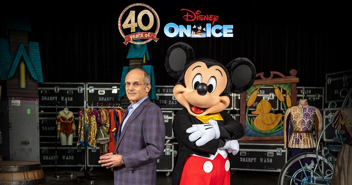 Disney On Ice 40th anniversary