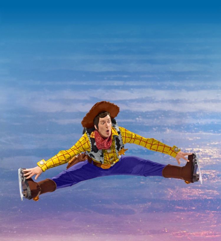 toy story ice jump
