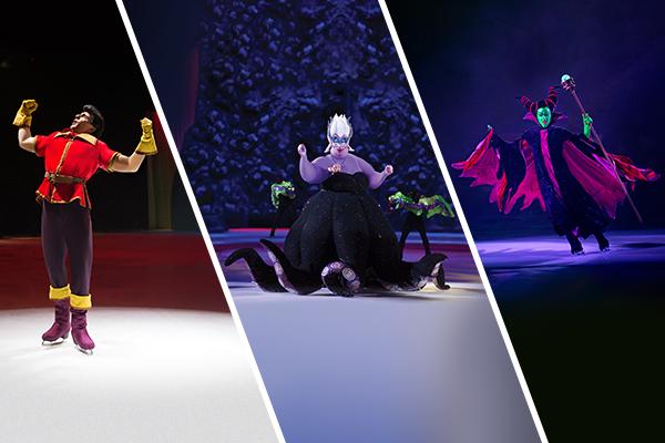 Disney On Ice Villains