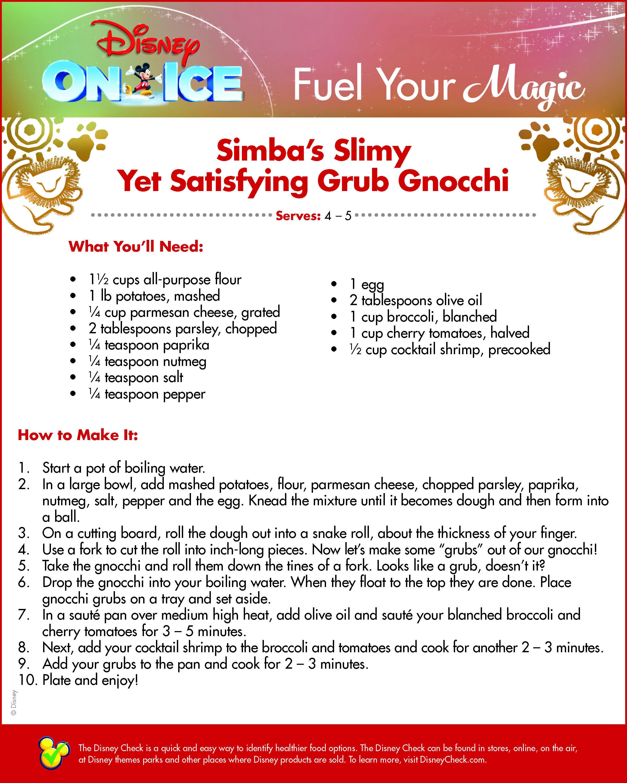 Simba Grub Gnocchi