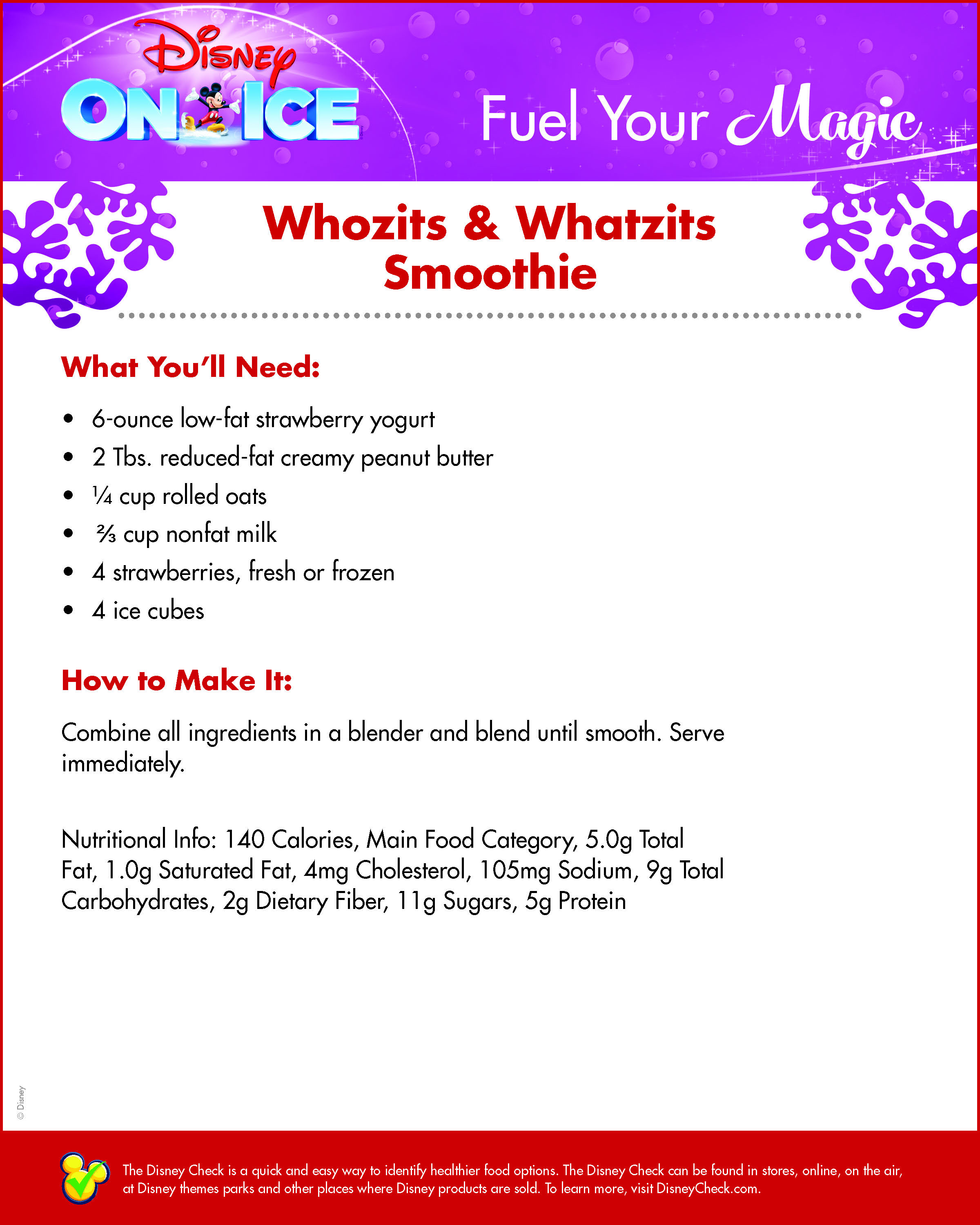 Whozits & Whatzits Smoothie
