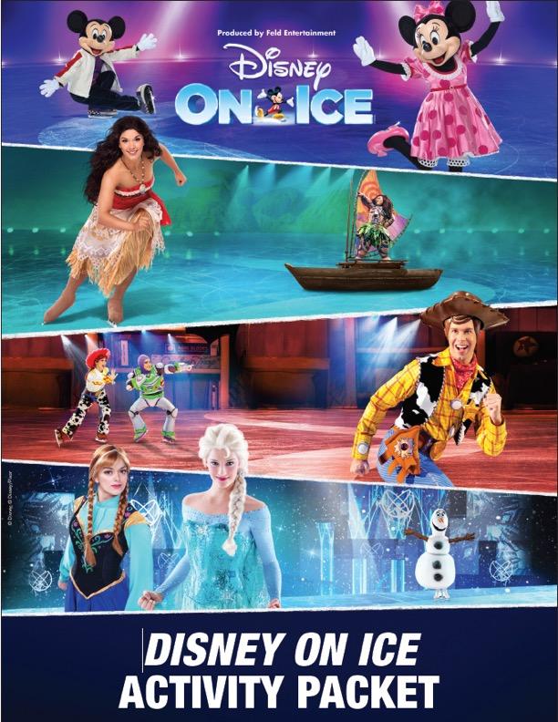 Disney On Ice Activity Pack
