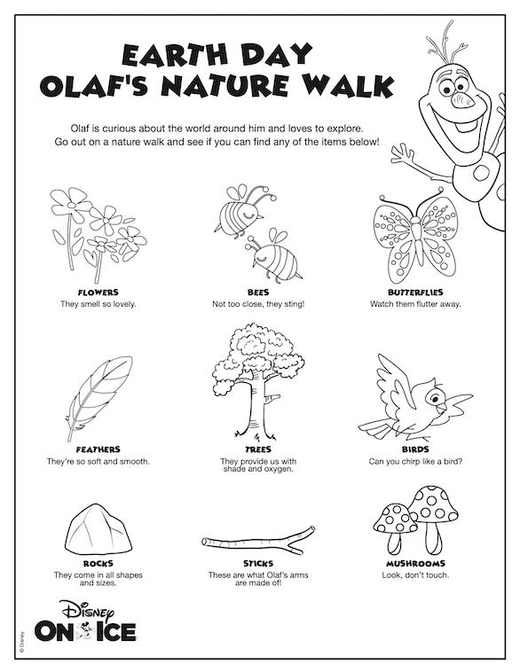 Olaf's Nature Walk